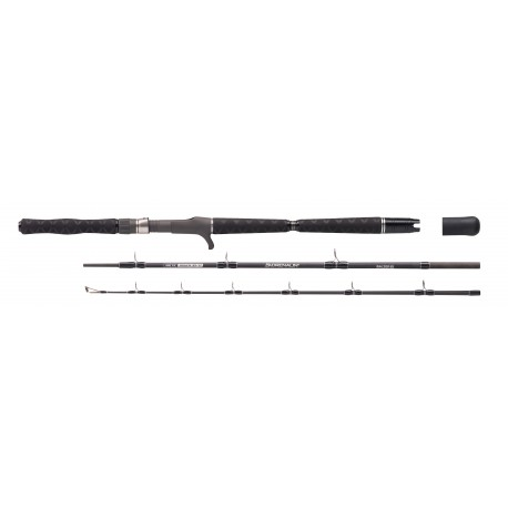 Spinning rod Balzer Adrenalin Arctic Jigger Travel Cast