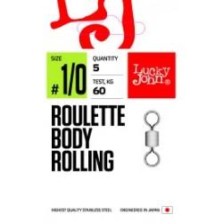 Вертлюжок LJ PRO Roulette Body Rolling