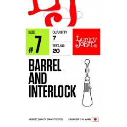 Swivel LJ PRO Barrel and Interlock