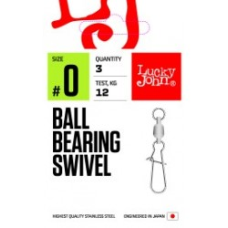 Pöörlaga karabiin LJ PRO Ball Bearing Swivel