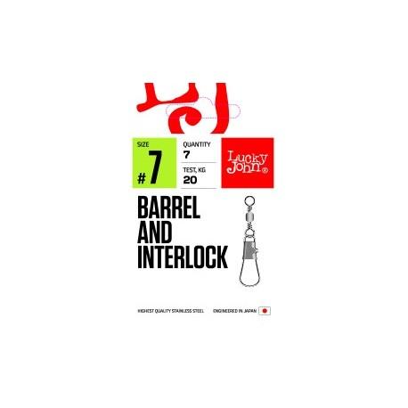 Вертлюжок - застежка LJ PRO Barrel and Interlock