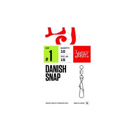 Вертлюжок - застежка LJ PRO Danish Snap