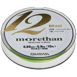 Braided line Daiwa MORETHAN 12 BRAID