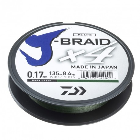 Braided line Daiwa J-BRAID X4