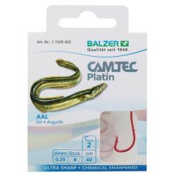 Крючки с поводком BALZER CAMTEC PLATIN EEL