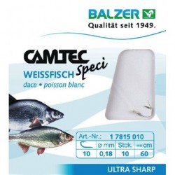 Hooks with leader BALZER CAMTEC SPECI COARSEFISH