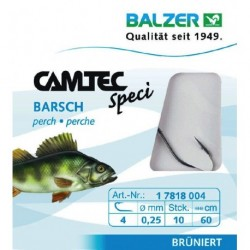 Hooks with leader BALZER CAMTEC SPECI PERCH