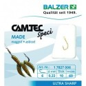 17827006 Hooks with leader BALZER CAMTEC SPECI MAGGOT