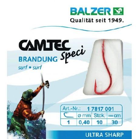 Konksud lipsuga BALZER CAMTEC SPECI FLADFISH