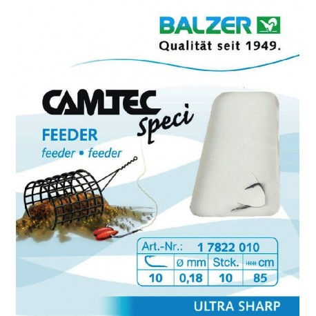 Hooks with leader BALZER CAMTEC SPECI FEEDER