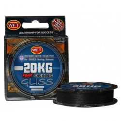 Braided line WFT GLISS SINKING BLACK