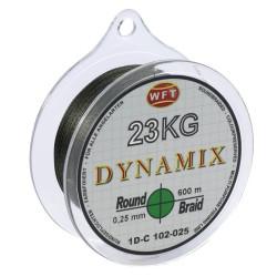 Braided line WFT ROUND DYNAMIX GREEN