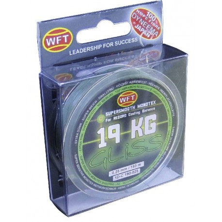 Braided line WFT GLISS GREEN
