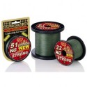 1D-C 810-025 Braided line WFT STRONG GREEN