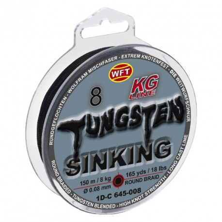 Braided line WFT TUNGSTEN SINKING