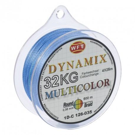 Braided line WFT ROUND DYNAMIX MULTICOLOR