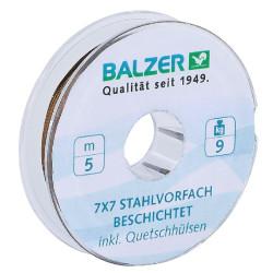 Материал для поводков BALZER 7X7 SPOOL, COATED