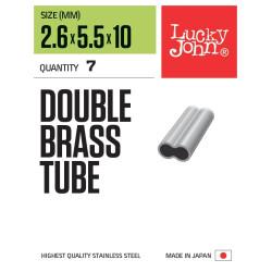Обжимные трубочки LJ Double Leader Sleever