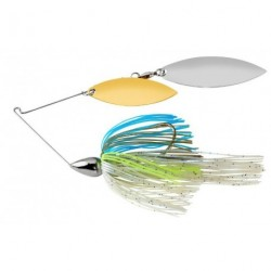 Spinnerbait War Eagle Nickel Frame Double Willow
