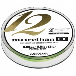 Braided line Daiwa Morethan 12 Braid EX+SI