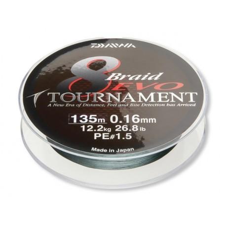 Шнур Daiwa Tournament 8 Braid Evo