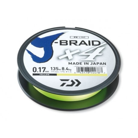 Шнур Daiwa J-Braid X4E