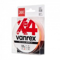 Braided line Lucky John Vanrex X4 Orange