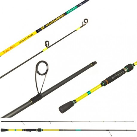 Spinning rod Lucky John Progress Micro Jig V2 37