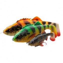 Soft lure Savage Gear 4D Perch Shad Perch