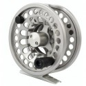 10538S Fly fishing reels Snowbee Onyx Silver Fly Reel