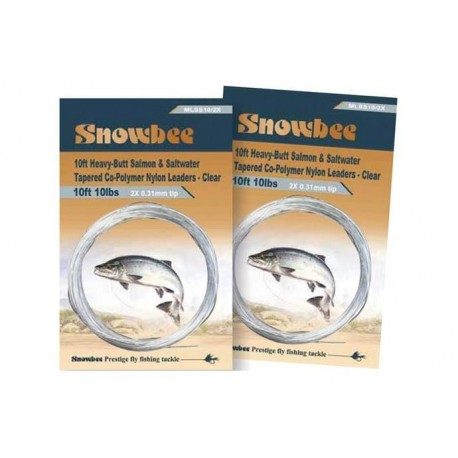 Snowbee Monofilament Leader Clear