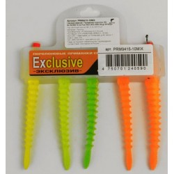 Foam soft lure 3D Ex WORM FLUO