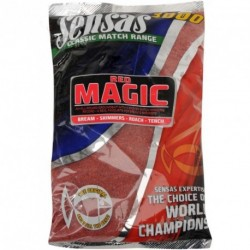 Groundbait Sensas 3000 MAGIC RED UK RANGE