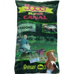 Groundbait Sensas 3000 SUPER CANAL GARDONS