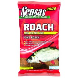 Groundbait Sensas 3000 SUPER FINE ROACH UK RANGE
