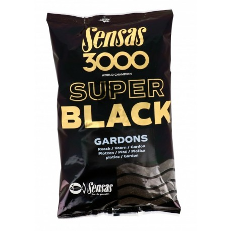Groundbait Sensas 3000 SUPER BLACK