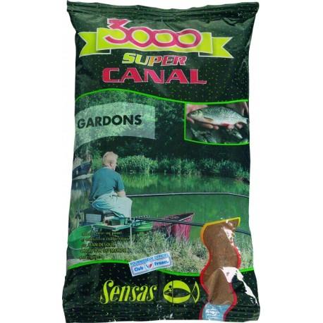 Groundbait Sensas 3000 SUPER CANAL GARDONS