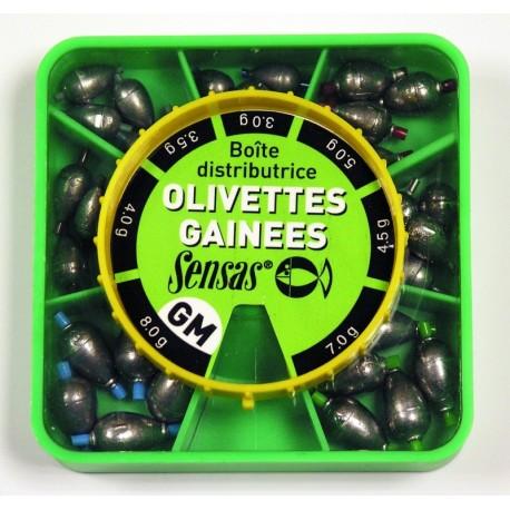 Tinakomplekt Sensas Oval Olivettes