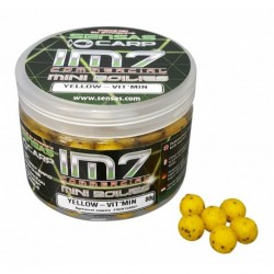 Boilies Sensas IM7 MINI BOILIES YELLOW VITMIN