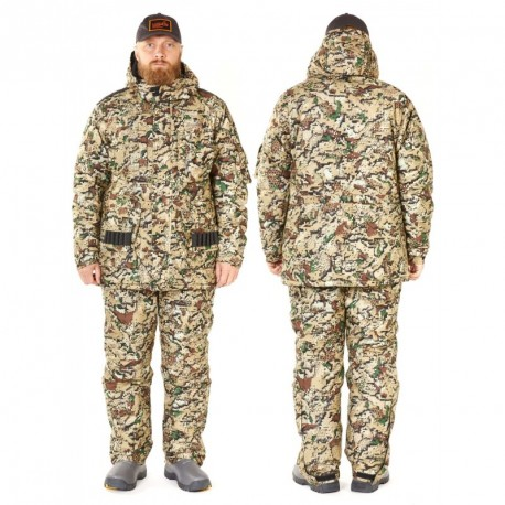 Winter suit NORFIN Hunting TRAPPER WIND