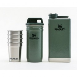 STANLEY Adventure pre-party shot glass + flask 0,23 L SET