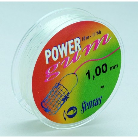 Shock absorbing rubber Sensas Power Gum