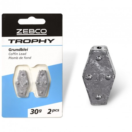 Zebco Trophy Coffin Lead