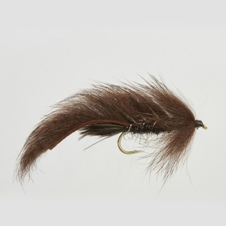 Fishing fly Turrall STANDARD MINKY BROWN