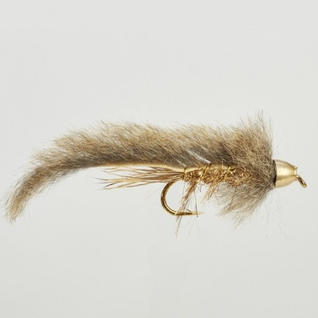 Fishing fly Turrall CONEHEAD GREY