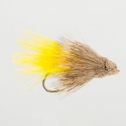 Fishing fly Turrall MARABOU YELLOW