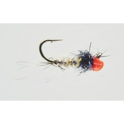 Fishing fly Turrall ORANGE, HARE'S EAR & BLACK