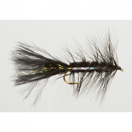 Fishing fly Turrall BLACK BUGGER
