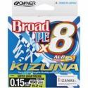 56117-0,17 Braided line Owner Kizuna Super Chartreuse 135m