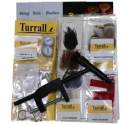 Complete set for fishing flies Turrall